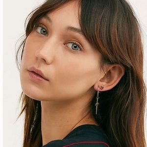 🔥NEW!🔥 Free People Raw Stone Earring Set
